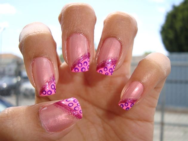 Pink/Purple Dots