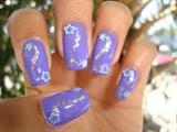 Purple/Silver Stars