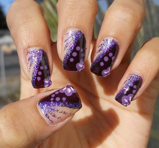 Purple - Glitter 2